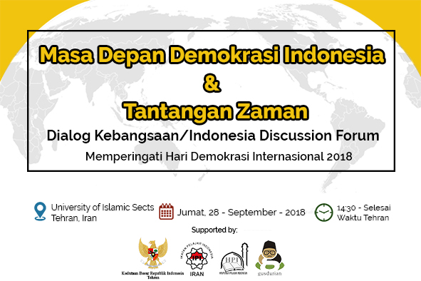 PRESS RELEASE : Dialog Kebangsaan Masa Depan Demokrasi Indonesia & Tantangan Zaman