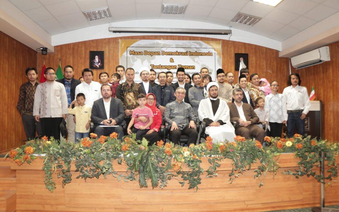 Pelajar Indonesia di Iran Bahas Masa Depan Demokrasi Indonesia