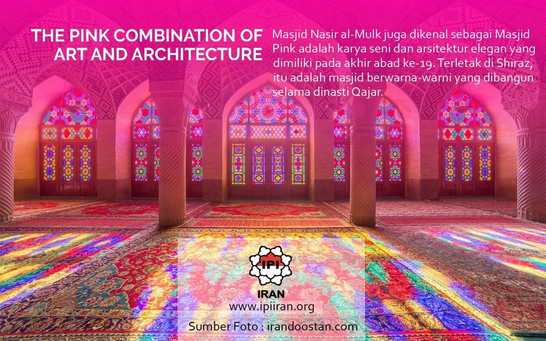 Keindahan Masjid Pink di Iran
