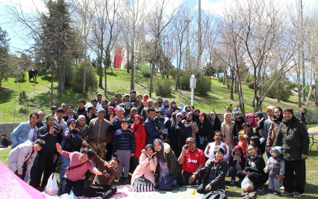 Semaraknya Peringatan Hari Alam di Iran bersama KBRI Tehran