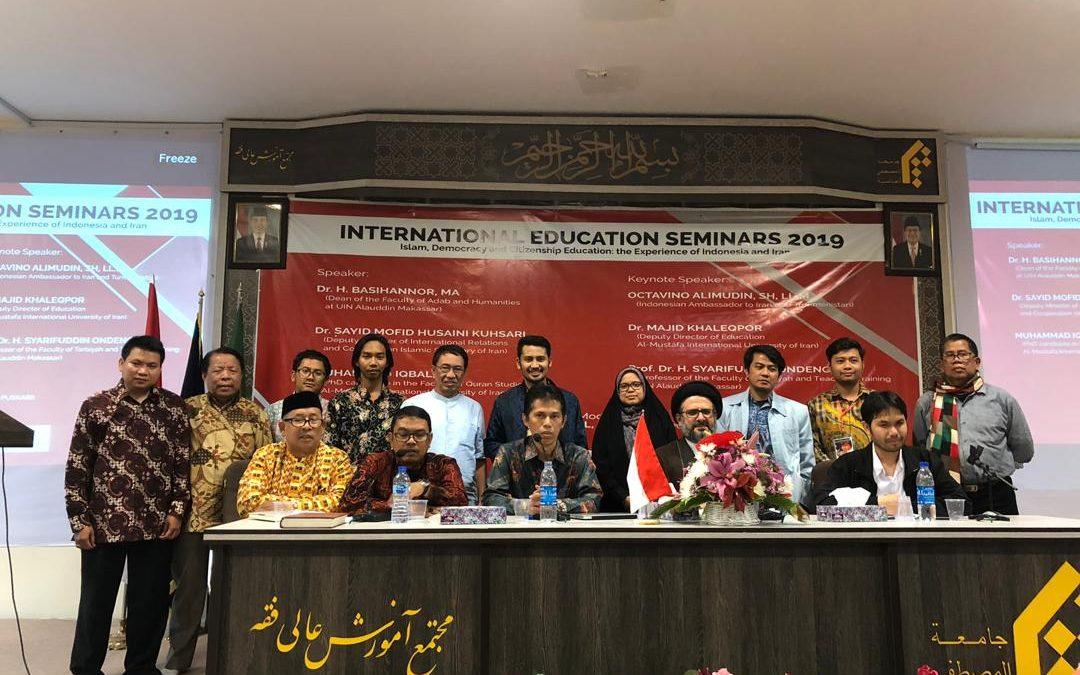 Peringati Hardiknas, IPI Iran Gelar Seminar Pendidikan Internasional 2019