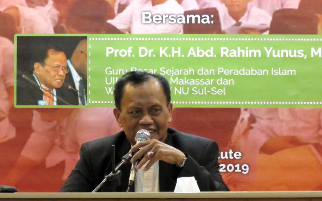 Prof. Dr. KH. Abd. Rahim Yunus, MA: Sunni dan Syiah di Iran Hidup secara Harmonis