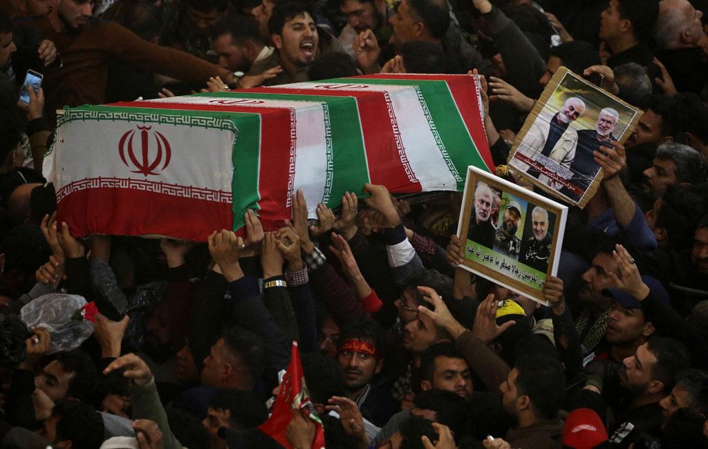 Perginya Jenderal Iran Pembela Alquds
