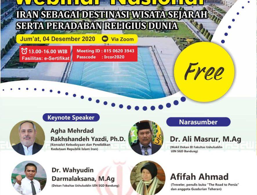 Iran Siap Kolaborasi Berbagi Pengalaman Wisata Religi dengan Indonesia