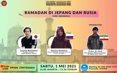 Talkshow Ramadan di Rusia dan di Jepang ala Pelajar Indonesia
